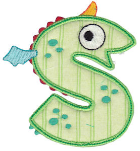 Monster Mash Alpha Applique 19