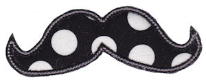 Moustache Applique 1