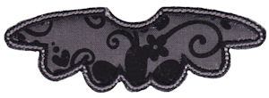 Moustache Applique 14