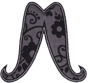 Moustache Applique 8