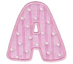 My Little Alphabet A