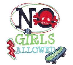 No Girls Allowed