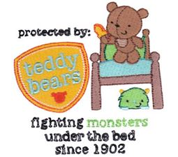 Protected By Teddy Bears