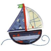 Embroidery Design Set - Nautical Applique