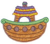 Noahs Ark Applique