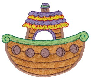 Noahs Ark Applique 1