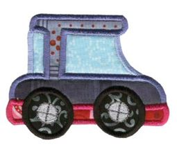 On The Move Applique 4