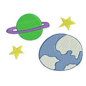 Embroidery Design Set - Out Of This World 9