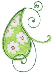 Paisley Applique 13