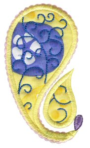 Paisley Applique 16