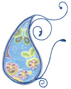 Paisley Applique 18