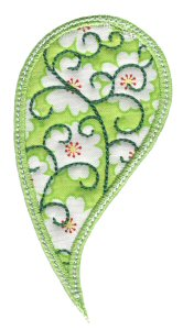 Paisley Applique 4