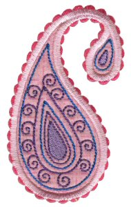 Paisley Applique 7