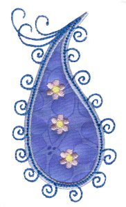 Paisley Applique 8