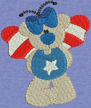 Advanced Embroidery Designs. Patriotic Embroidery Designs.