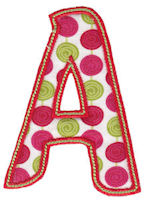 Patty Cake Alpha Applique
