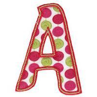 Patty Cake Alpha Applique