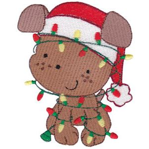 Embroidery Design Set - Pet Christmas 7