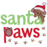 Embroidery Design Set - Pet Christmas