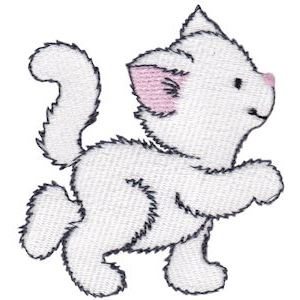 Embroidery Design Set - Precious Kittens 1