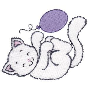 Embroidery Design Set - Precious Kittens 10