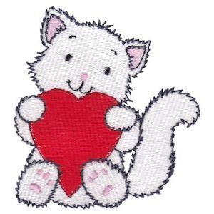 Embroidery Design Set - Precious Kittens 11