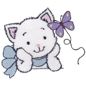 Embroidery Design Set - Precious Kittens 13