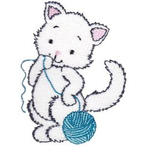 Embroidery Design Set - Precious Kittens 14