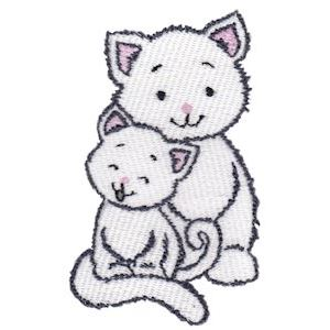 Embroidery Design Set - Precious Kittens 15