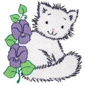 Embroidery Design Set - Precious Kittens 3