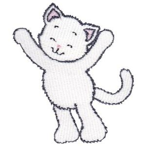Embroidery Design Set - Precious Kittens 4