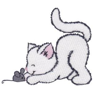 Embroidery Design Set - Precious Kittens 5