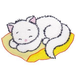Embroidery Design Set - Precious Kittens 6