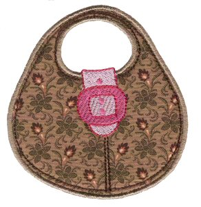 Pretty Purses Applique 6