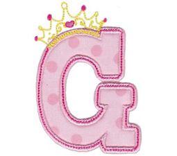 Princess Alpha Applique G
