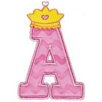 Princess Alpha Applique