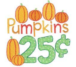 Pumpkins 25c