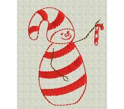 Redwork Christmas 1