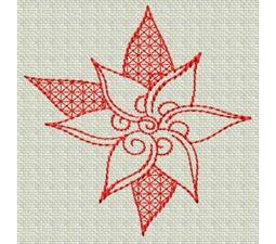 Redwork Christmas 17