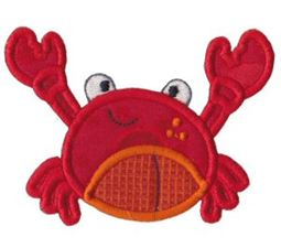 Sea Creatures Applique 1