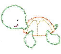 Turtle Vintage Stitch