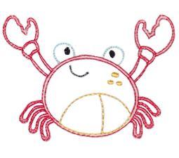 Crab Vintage Stitch