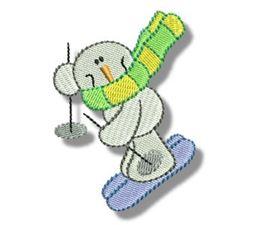 Seasonal Snowmen 4
