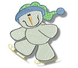Seasonal Snowmen 6