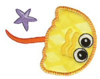 Sea Squirts Applique