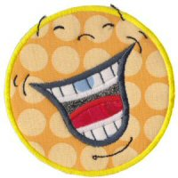 Silly Faces Applique