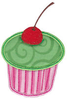 Simply Cupcakes Applique