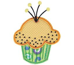Simply Cupcakes Too Applique 13