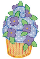 Simply Cupcakes Too Applique