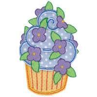 Simply Cupcakes Too Applique